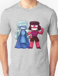 Steven Universe: Sapphire and Ruby Unisex T-Shirt