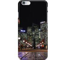 Sydney, Australia - night time walk iPhone Case/Skin