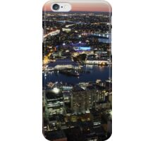 Sydney, Australia, dusk from the air iPhone Case/Skin