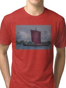 The Dragon Harald Harfagre at Toronto's Harbourfront Tri-blend T-Shirt