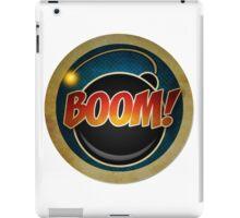 Logo -  BOOM! FX iPad Case/Skin