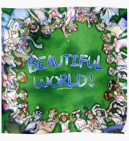 [Hetalia] Beautiful World! #10YrsOfHetalia Poster
