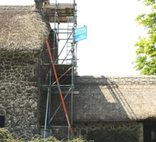Re-thatching the Roof Sticker