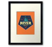 River Country. It used to exist. Framed Print