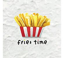 Fries Time Photographic Print