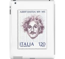 Postage Stamp Genius:  Albert Einstein iPad Case/Skin