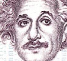 Postage Stamp Genius:  Albert Einstein Sticker