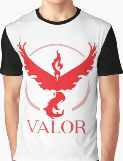 Team Valor from Pokemon Go Graphic T-Shirt