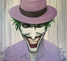 "Acrylic Joker portrait from ""the killing joke""   by AmandaRuthArt"