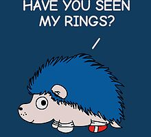 Have you seen my rings? by OneWeirdDude