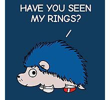 Have you seen my rings? Photographic Print