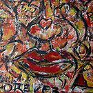 love wall.....red lips by banrai