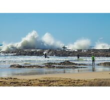 Waves of Fury Photographic Print