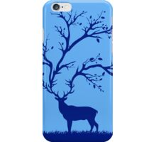 Forest Whispers - Blue iPhone Case/Skin