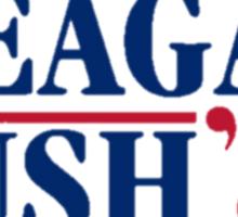 Ronald Reagan and George Bush 1984 Sticker