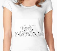 Cindy Women's Fitted Scoop T-Shirt