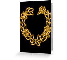 Sailor Venus Logo Greeting Card