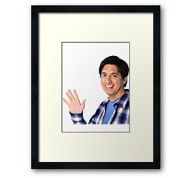 Everyone really likes Raymond  Framed Print