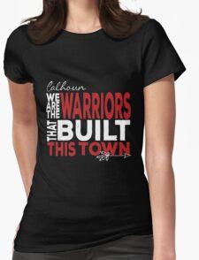 Calhoun Warriors: Built This Town Womens Fitted T-Shirt