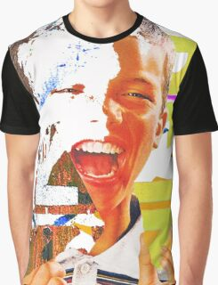 happy on the inside Graphic T-Shirt