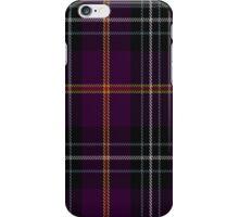 02036 Curnow of Kernow Tartan  iPhone Case/Skin