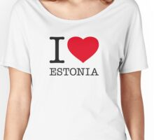I ♥ ESTONIA Women's Relaxed Fit T-Shirt