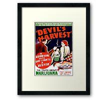 Devil's Harvest Framed Print