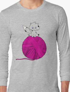 Yarn Long Sleeve T-Shirt