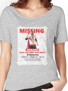 Missing: El Generico Women's Relaxed Fit T-Shirt