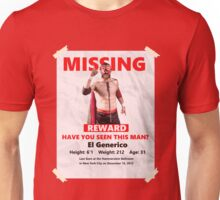 Missing: El Generico Unisex T-Shirt