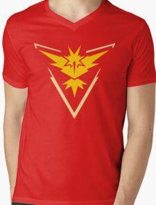 Team Instinct Pokemon Go  Mens V-Neck T-Shirt