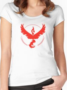 Team Valor Pokemon Go  Women's Fitted Scoop T-Shirt