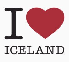 I ♥ ICELAND One Piece - Long Sleeve