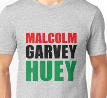 Malcolm, Garvey, Huey Unisex T-Shirt
