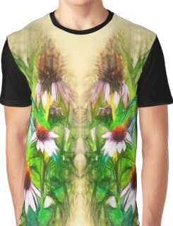 Flower Impressions Graphic T-Shirt