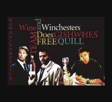 Wine &Winchesters Does GISHWHES by wawgishwhestfq