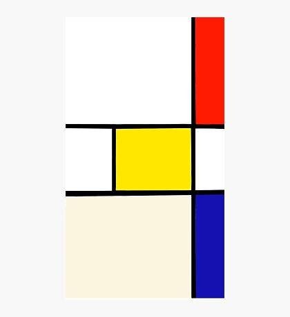 A Piet Mondrian Study Photographic Print