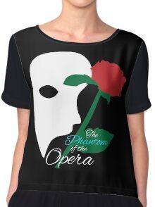 The Phantom and Rose Chiffon Top