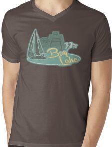 Visit Fabulous Bay Lake! Mens V-Neck T-Shirt
