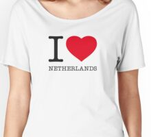 I ♥ NETHERLANDS Women's Relaxed Fit T-Shirt