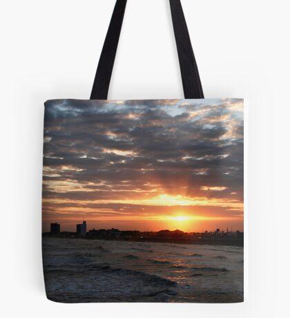 Corpus Christi Sunset Tote Bag