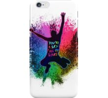 A Head Full of Dreams Rainbow Splatter iPhone Case/Skin