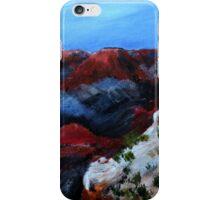 Nevada Desert Landscape Acrylics On Canvas Board iPhone Case/Skin