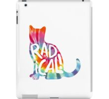 Radical Cat Tie Dye iPad Case/Skin