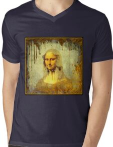 Mona Lisa Smile Mens V-Neck T-Shirt