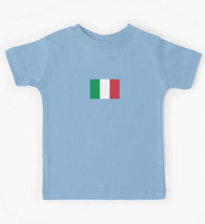 Italian Flag Mini Skirt Dress Kids Tee