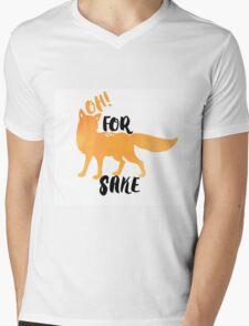 for fox sake Mens V-Neck T-Shirt