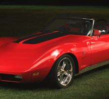 1973 Corvette Convertible Sticker