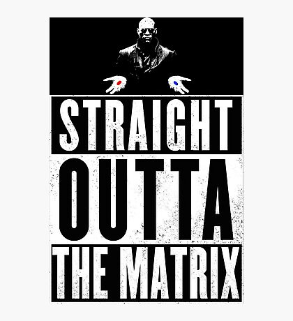 Morpheus - Straight outta The Matrix Photographic Print