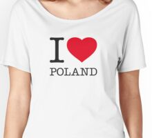 I ♥ POLAND Women's Relaxed Fit T-Shirt
